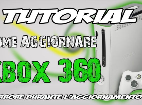 Errore Dashboard Xbox 360
